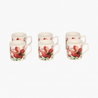 Carney Superior Glaze Mini Mug Set- 6 Pcs.