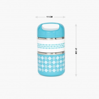 Korobka 2-Tier Insulated Lunch Box