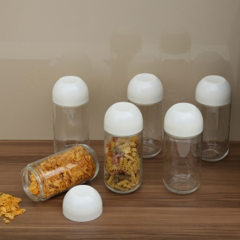 Regal Glass Storage Jars- 6 Pcs.