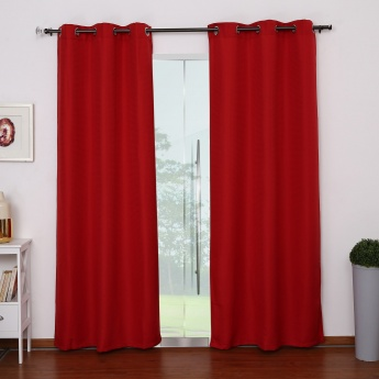 Seirra Door Curtains Set-2pcs