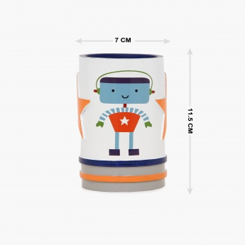 Adventure Of U-Tron Robotic Shaped Tumbler