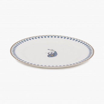 Altius Oynx Peacock Dinner Plate