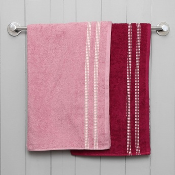 Tesanee Bath Towel Set -2pcs
