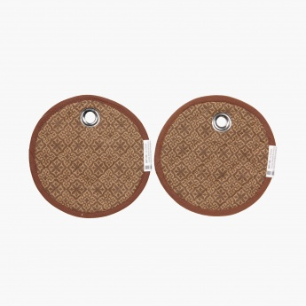 Meadows Golden Age Cotton Pot Holder Set -2 Pcs