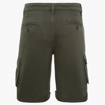 BOSSINI Roll-Up Shorts