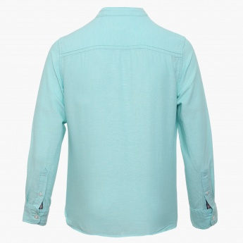 BOSSINI Solid Full Sleeves Shirt
