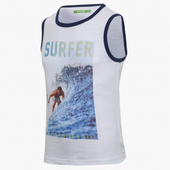 BOSSINI Surfing Digital Print Vest