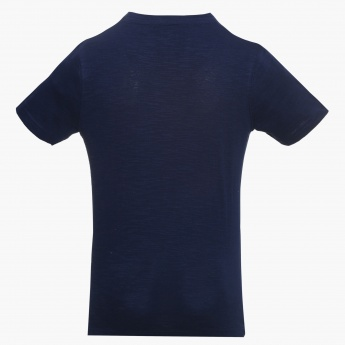 BOSSINI Arrow Print Crew Neck Tee