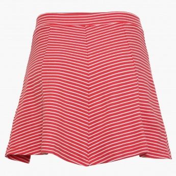 BOSSINI Striped Skater Skirt