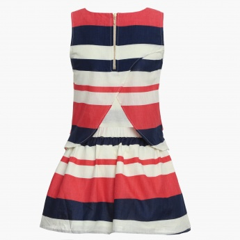 BOSSINI Striped Sleeveless Dress