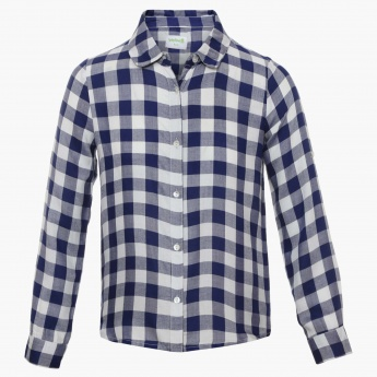 BOSSINI Gingham Checks Full Sleeves Shirt
