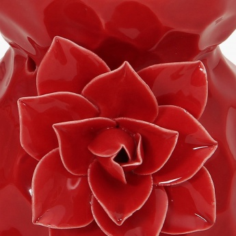 Splendid Redolance Ceramic Flower Embossed Burner