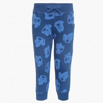 JUNIORS Mickey Printed Joggers