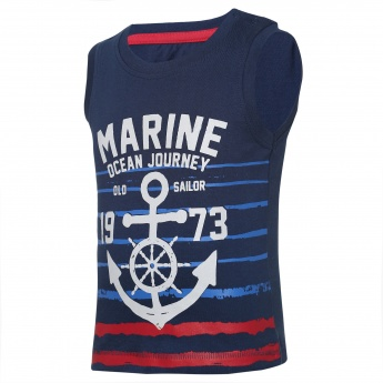JUNIORS Marine Journey Sleeveless T-Shirt