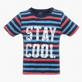 JUNIORS Stay Cool Crew Neck T-Shirt