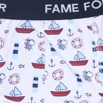 FAME FOREVER Printed Brief - Pack of 3 Pcs.