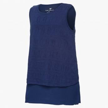 FAME FOREVER Layered Sleeveless Top