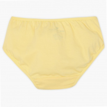 FAME FOREVER Solid Cotton Panty - Pack Of 3