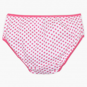 FAME FOREVER Polka Dot Panty - Pack Of 3