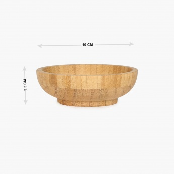 Bamboo Snack Bowl