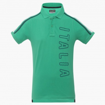 KAPPA Italia Polo Neck T-Shirt  d82be3f5b032