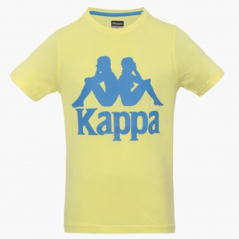 KAPPA Graphic Print Crew Neck T-Shirt