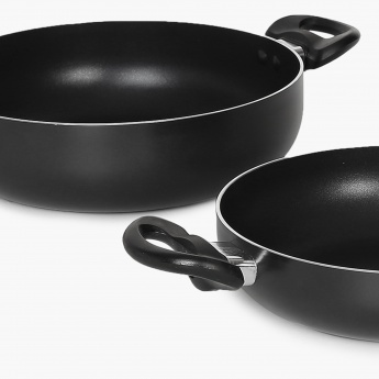 Havana Non-Stick Kadhai- Set Of 2 Pcs.