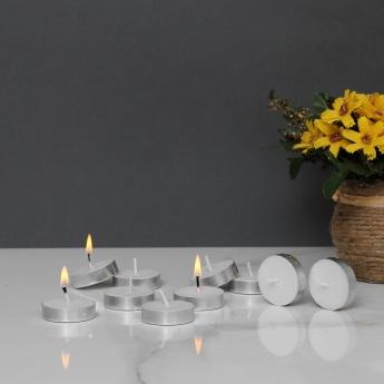 Splendid Jasmine Scented Tea Light Candles - Set Of 10