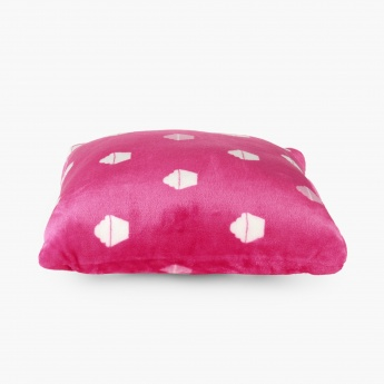 Fabulous 3 Cupcakes Plush Filled Cushion