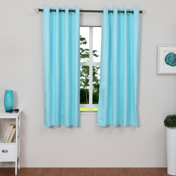 Colour Connect Blackout Window Curtain Set-2pcs