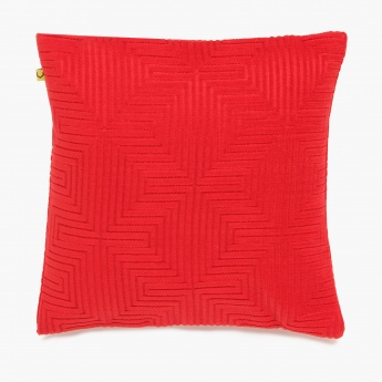 Matrix Delano Jacqured Cushion Cover Set-2 Pcs 30x30cm