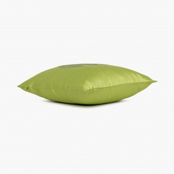 Celebration Studded Leafy Cushion Cover Set-2pcs