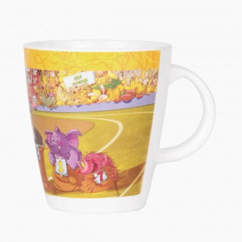 City Goes Wild Sack Race Kids Coffee Mug