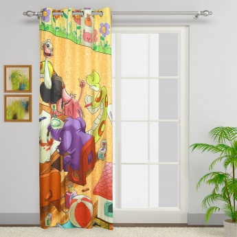 City Goes Wild Door Curtain