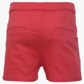 BOSSINI Pocketed Pleated Shorts