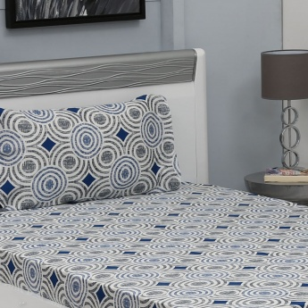 MASPAR Printed Single Bedsheet Set- 2 Pcs.