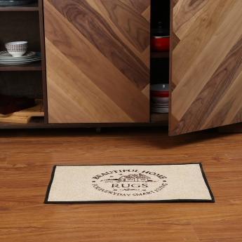Clarie Checkstyle Tapestry Kitchen Rug