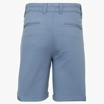LEE COOPER JUNIORS Roll-Up Relaxed Shorts