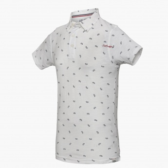 LEE COOPER JUNIORS Paisley Print Short Sleeves T-Shirt