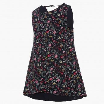 LEE COOPER JUNIORS Floral Print Tent Top