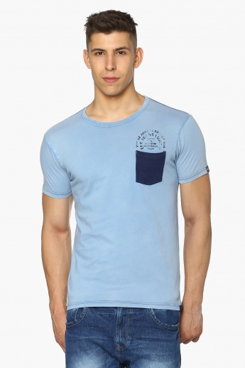 PEPE JEANS Chest Patch Pocket Crew Neck T-Shirt
