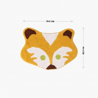 City Goes Wild Cat Shape Bathmat