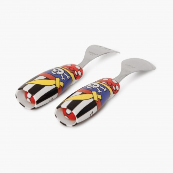 Adventures Of U-Tron Pirate Plate & Cutlery Set Of 3 Pcs.