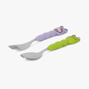 Hippo & Frog Cutlery Set