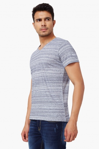 WRANGLER Striped Cotton T-Shirt