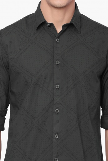 U.S. POLO ASSN. Printed Casual Shirt