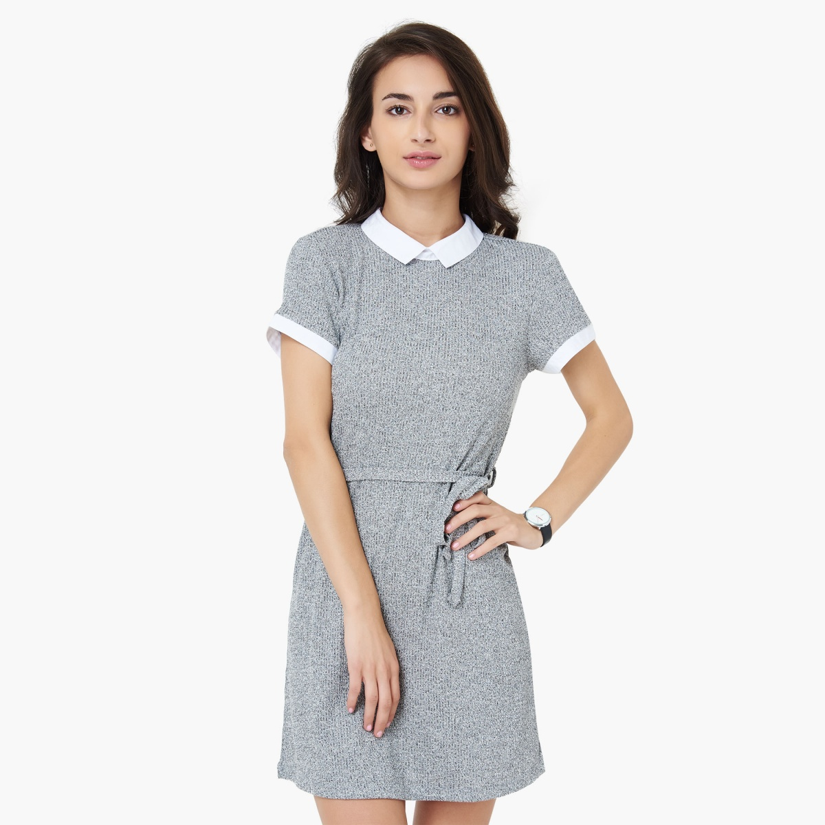 BOSSINI Knit Design Fit and Flare Dress thumbnail