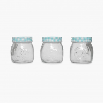 Peroni-Marley Glass Preservative Jar- Set Of 3 Pcs.