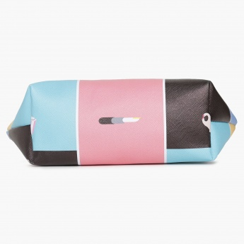 GINGER Art Pop Print Makeup Pouch
