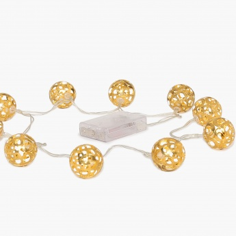 Serena Sheer Round Ball String- Set Of 10 Pcs.